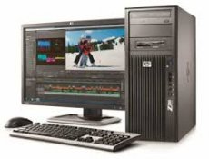 103308 HP Z600 Workstation 2x Six Core X5670 3.2GHz/48GB/256GBSSD/500GB/DVD/W71000+W10P